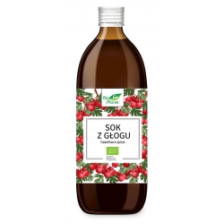 SOK Z GŁOGU BIO 500 ml - BIO PLANET-1